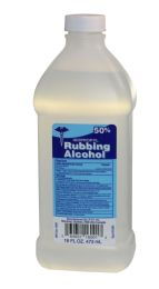 24 Units of Rubbing Alcohol 50% Clear 16 Oz ** 5 Cases Min** - Medical Supply