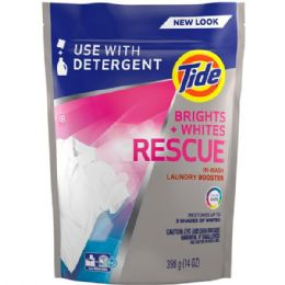 4 Units of TIDE LAUNDRY BOOSTER 18CT HE BRIGHTS AND WHITE - Laundry Detergent