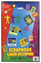 36 Units of Scrap Book 56 Sheets 15 X 10in - Store