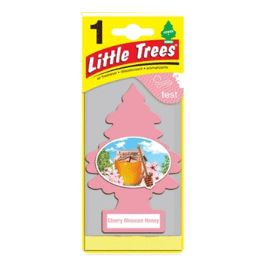 24 Units of Little Tree Cherry Blossom Honey Car Freshener 1's - Air Fresheners
