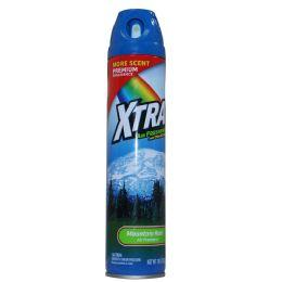 12 Units of Xtra 10 Oz Aerosoal Mountain Rain Spray - Air Fresheners