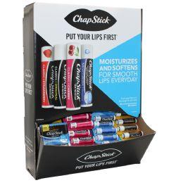 36 Units of Chapstick Floor Display (classic Original Moisturizer Spf15 Classic Cherry) - Personal Care Items