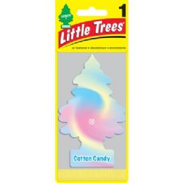 24 Units of LITTLE TREE 1PK COTTON CANDY - Air Fresheners