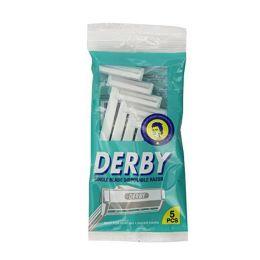 10 Units of Derby 5 Pk Disposable Razors - Shaving Razors