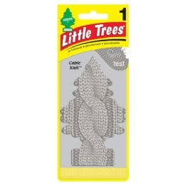 24 Units of LITTLE TREE 1PK CABLE KNIT - Air Fresheners