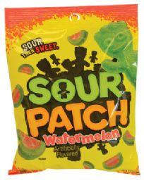 12 Units of Sour Patch Watermelon 4 Oz Peg Bag - Food & Beverage