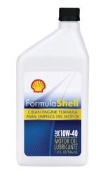 12 Units of SHELL MOTOR OIL 10W-40 1QTMADE IN USA