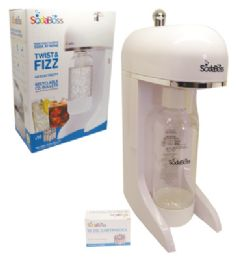 Sodaboss Soda Maker 12 Pc Includes 10 Co2 Bullets/1 System/1 Liter Bottle White - Kitchen Gadgets & Tools