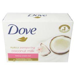 48 Units of Dove Bar Soap 4.75 Oz Coconut Milk - Soap & Body Wash