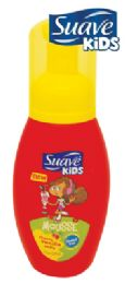 12 Units of Suave Kids Mousse 7 Oz Cherry Vanilla Soda Made In Usa - Soap & Body Wash