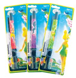 24 Units of Disney Fairies Ballpoint Pen Assorted Designs - Beach Toys