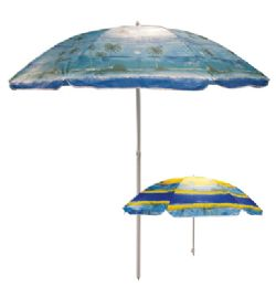9 Units of Beach Umbrella 81 Inch Tropical Designs - Outdoor Recreation