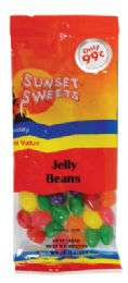 12 Units of SUNSET SWEETS JELLY BEANS 4 OZ PREPRICED $ 0.99 - Food & Beverage