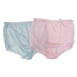 72 Units of LADIES BRIEF PANTIES SIZES 10-16 ASSORTED COLORS