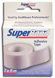 36 Units of SUPER BAND ADHESIVE TAPE 1 INCH X 5 YARDS BOXED - Tape
