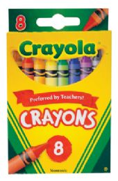 48 Units of Crayola Crayons 8 Count - Chalk,Chalkboards,Crayons
