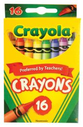 48 Units of CRAYOLA CRAYONS 16 COUNT - Chalk,Chalkboards,Crayons