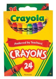 48 Units of Crayola Crayons 24 Count - Chalk,Chalkboards,Crayons