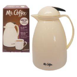 6 Units of MR COFFEE THERMAL CARAFE JUG 32 OUNCE DOUBLE WALL - Coffee Mugs