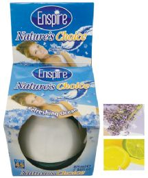 36 Units of Natures Choice 2.88 Oz Liquid Air Freshener Lasts Up To 45 Days Assorted Scents ( Lavendar/ Citrus/ Ocean) - Cleaning Products