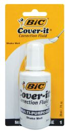 72 Units of BIC WITE OUT 0.70 OZ WITH BRUSH APPLICATOR - Correction Items