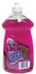 12 Units of ULTRA DISHWASHING LIQUID 28 OZ MOUNTAIN BERRY - Cleaning Products