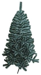 6 Units of PRIDE CHRISTMAS TREE 4 FEET 220 TIPS SNOW TIPPED