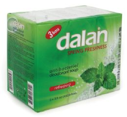 24 Units of Dalon Bar Soap 3.17 Ounce 3 Pack Spring Freshness - Soap & Body Wash