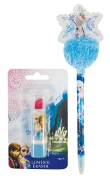 24 Units of POM POM PEN AND ERASER ASSORTED DESIGNS - Pens