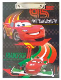 24 Units of Disney Cars Clipboard 12 X 9 Inch - Cars, Planes, Trains & Bikes