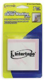 48 Units of Press On Corner Masking Tape 2.75 X 2.75 Inch - Tape
