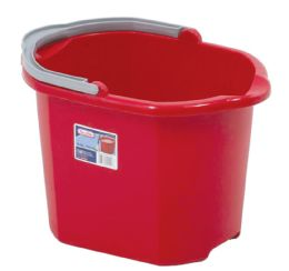 6 Units of Bucket With Handle And Pour Spout 16qt/15l - Cleaning Products