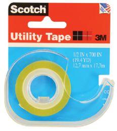 144 Units of 3m Scotch Utility Tape .5 X 700 Inch - Tape