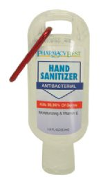 48 Units of PHARMACY BEST HAND SANITIZER 1.8 OUNCE WITH HANGING CLIP