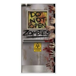 12 Units of Zombies Lab Door Cover indoor & outdoor use - Photo Prop Accessories & Door Cover