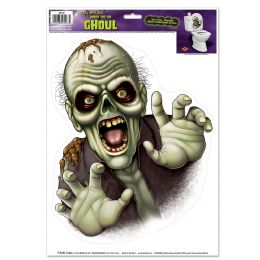 12 Units of Under The Lid Ghoul Peel 'n Place - Hanging Decorations & Cut Out