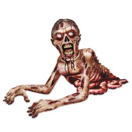 12 Units of Jointed Zombie Crawler - Bulk Toys & Party Favors