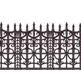 6 Units of Creepy Fence Border insta-theme - Party Novelties