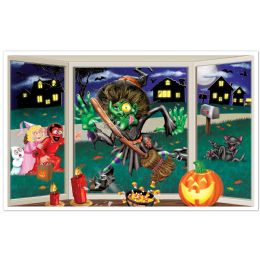 6 Units of Crashing Witch InstA-View Creates A Scene On Your Wall - Party Novelties