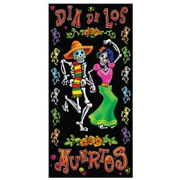 12 Units of Day Of The Dead Door Cover indoor & outdoor use - Photo Prop Accessories & Door Cover