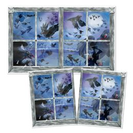 6 Units of Bird Attack InstA-View Creates A Scene On Your Wall - Party Novelties
