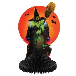 12 Units of Witch Centerpiece - Party Center Pieces