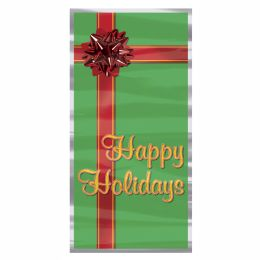 12 Units of Happy Holidays Door Cover indoor & outdoor use - Photo Prop Accessories & Door Cover