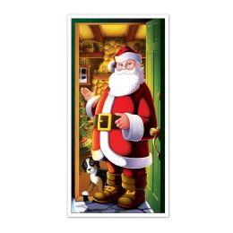 12 Units of Santa Door Cover indoor & outdoor use - Photo Prop Accessories & Door Cover