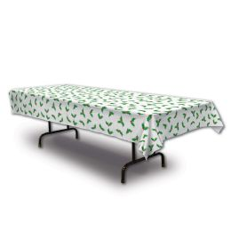 12 Units of Holly Tablecover Plastic - Table Cloth