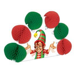 12 Units of Elf PoP-Over Centerpiece - Party Center Pieces