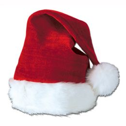 12 Units of Santa Hat Red; One Size Fits Most - Party Hats & Tiara