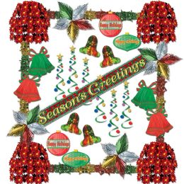Season's Greetings Rflctns Dec Kit-31 Pc - Party Accessory Sets