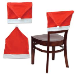 12 Units of Santa Hat Chair Cover - Party Hats & Tiara