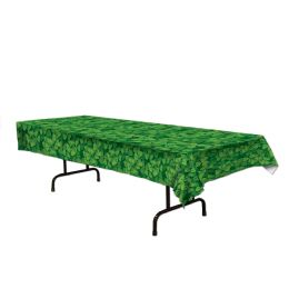 12 Units of Shamrock Tablecover Plastic - Table Cloth